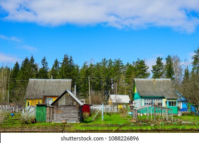 russian dacha cointryside house