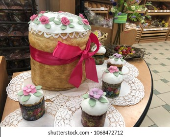 Russian Easter Cakes Images, Stock Photos & Vectors