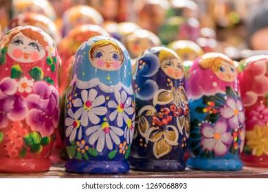 Russian doll matryoshka doll