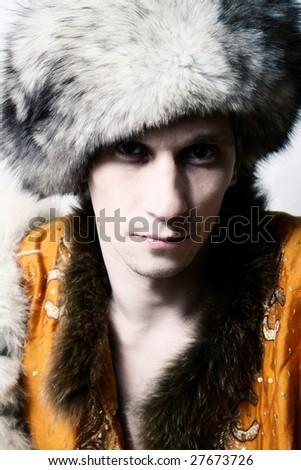 6c98e2bee48 Russian Fashion Men Furcup Stock Photo (Edit Now) 27673726 ...