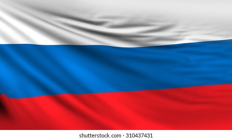 Russian Flag, Russia Background