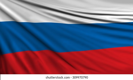 Russian Flag, Russia Country Symbol