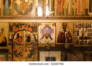 Russian iconostasis