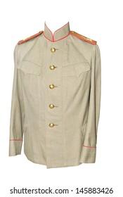 Russian military full-dress uniform of a 19 age