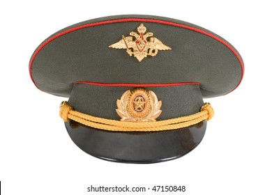 Russian Winter Army Hat Isolated On Stock Photo (Edit Now) 137440724 ... b61a0414e82