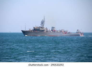 Russian military trawler