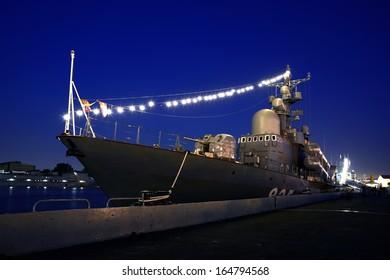 "Russian missile boat ""Dimitrovgrad"", St. Petersburg, Russia"