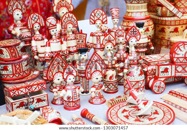 The Russian national crafts and crafts on a City Day Vologda 2018