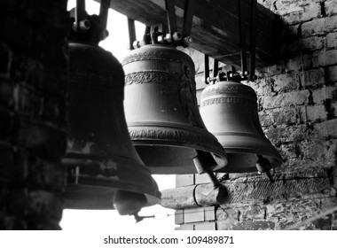 russian old iron chirch bells
