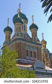 Russian Orthodox Cathedral of Saint-Nicolas de Nice is a national monument of France, located in the city of Nice, French Riviera. Opened thanks to the generosity of Tsar Nicholas II.