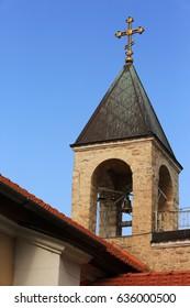 Russian Orthodox Church in Israel city of Haifa