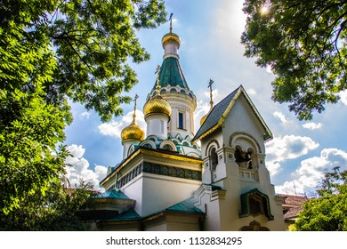 Russian orthodox church in Sofia, Bulgaria