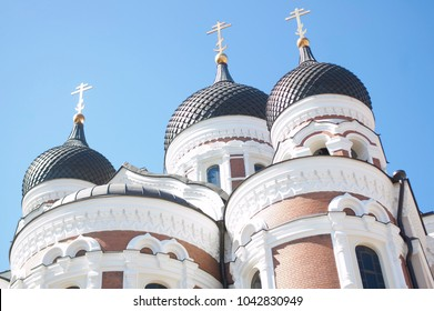Russian Orthodox Church in Tallinn Estonia