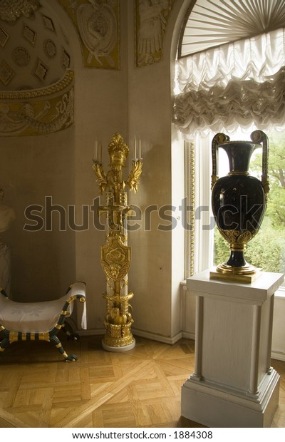Russian Palace Interior Stock Photo (Edit Now) 1884308