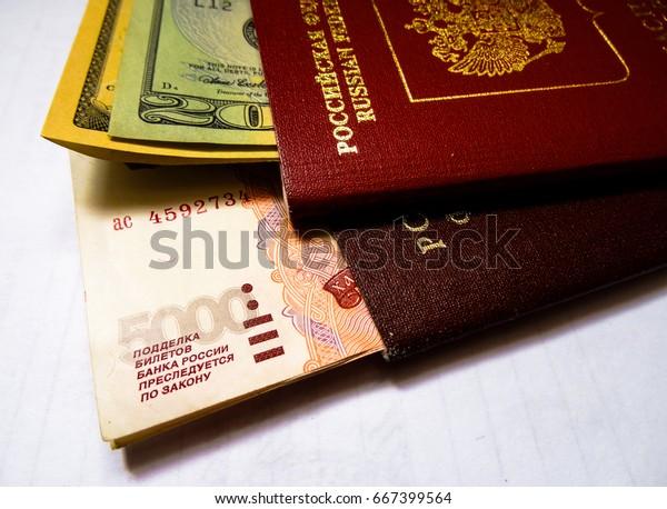 Russian Passport International Passport Russian Federation
