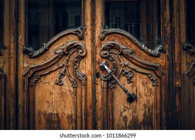 Russian retro door