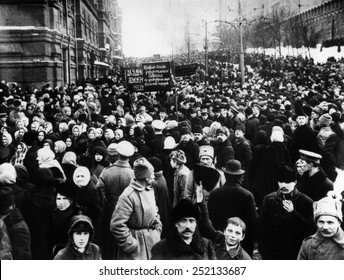 Russian Revolution, ca.mid to late 1910's.