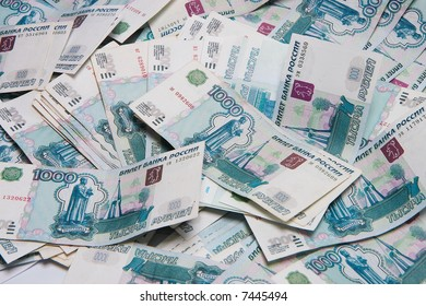 The Russian rubles
