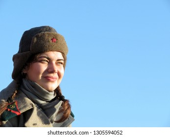 3fa06f270db Russian soldier woman