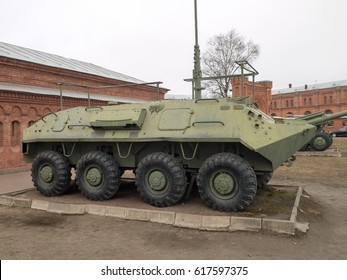 Russian Soviet 8x8 wheeled amphibious  armored personnel carrier (APC)