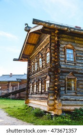 Russian wooden houses, churches, barns, sheds Old houses Ancient Church