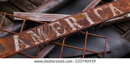 Rust belt America