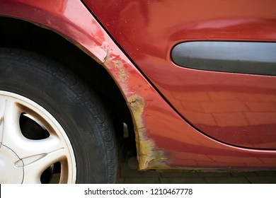 Rust is eating away vehicles' wheel arch, problem in older cars