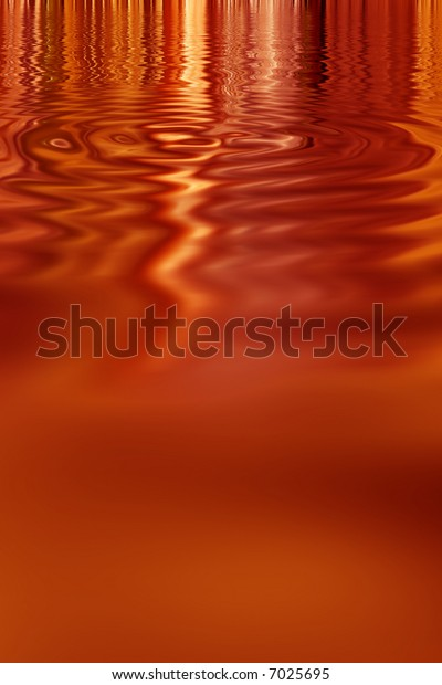 Rust fall colored vibrant metallic paint pool abstract background