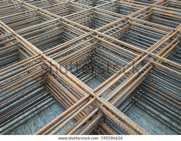 Rust Iron Weld Wire Mesh Use Stock Photo (Edit Now) 590586626