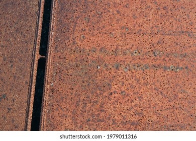 Rust metal abstract background close up