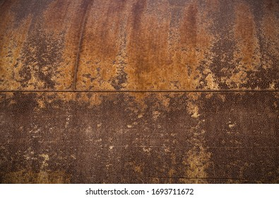 rust metal background brown rough texture industrial rusted with welding