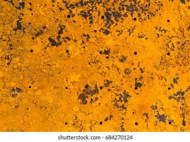Rust metal panel background