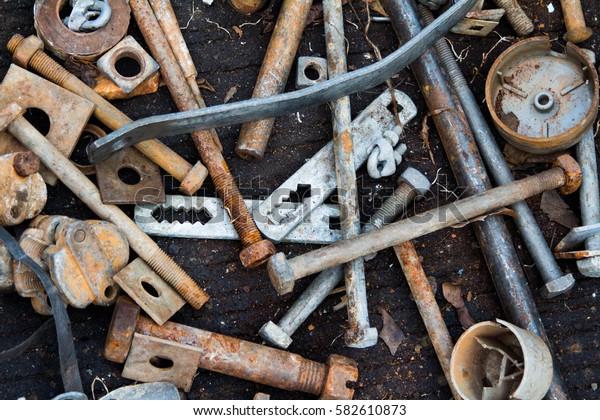 Rust Metal waste
