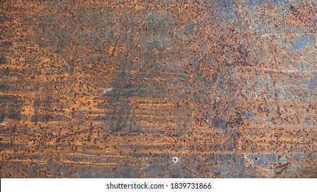 rust on old metal texture and background