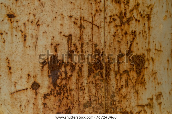Rust On Old Steelsteel Oxide Texture Stock Photo (Edit Now) 769243468