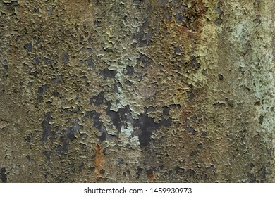 Rust and peeled paint texture