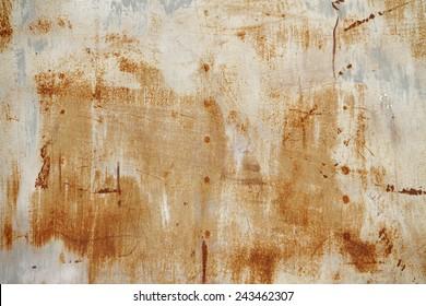 Rust sheet steel background