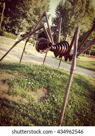 rust spider in Jesolo