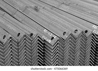 Rust steel member for raw material of steel tower in Transmission line