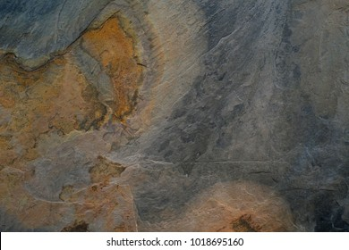 Rust stone wall or grunge stone texture image use for stone background