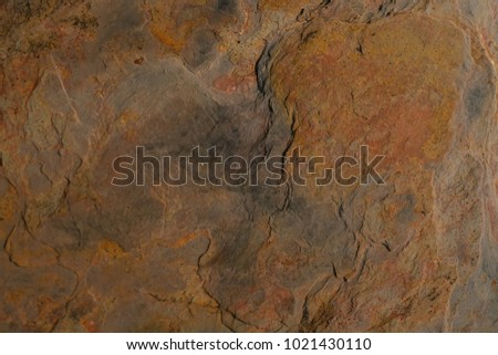 Rust Stone Wall Grunge Stone Texture Stock Photo (Edit Now