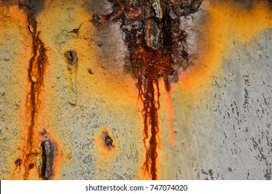 Rust Texture and Rusted Metal Background