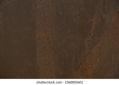 Rust wall, details of rusty metal surface background  copy space  image