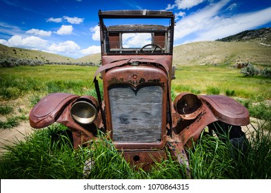 Rusted Broke Down Truck