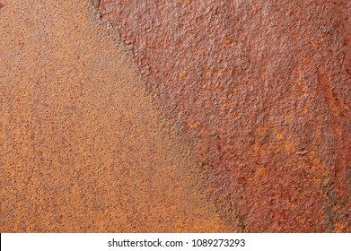 rusted corroded iron sheet background texture