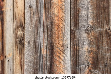 Rustic aged barn wood background.