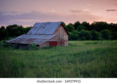 Rustic Barn in the Country