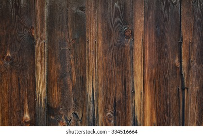 Rustic barn wood background with knots