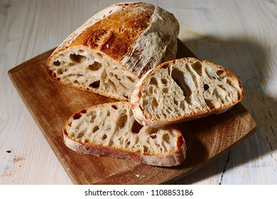 Rustic bred with flour.