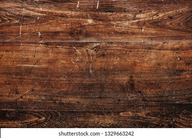 Rustic brown wooden textured flooring background